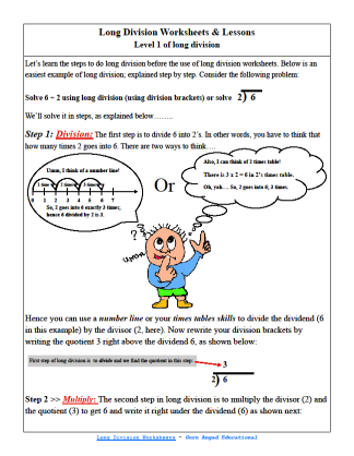 Free long division worksheets for 4th grade students. 5th grade math kids can practice their division skills too by using these worksheets.